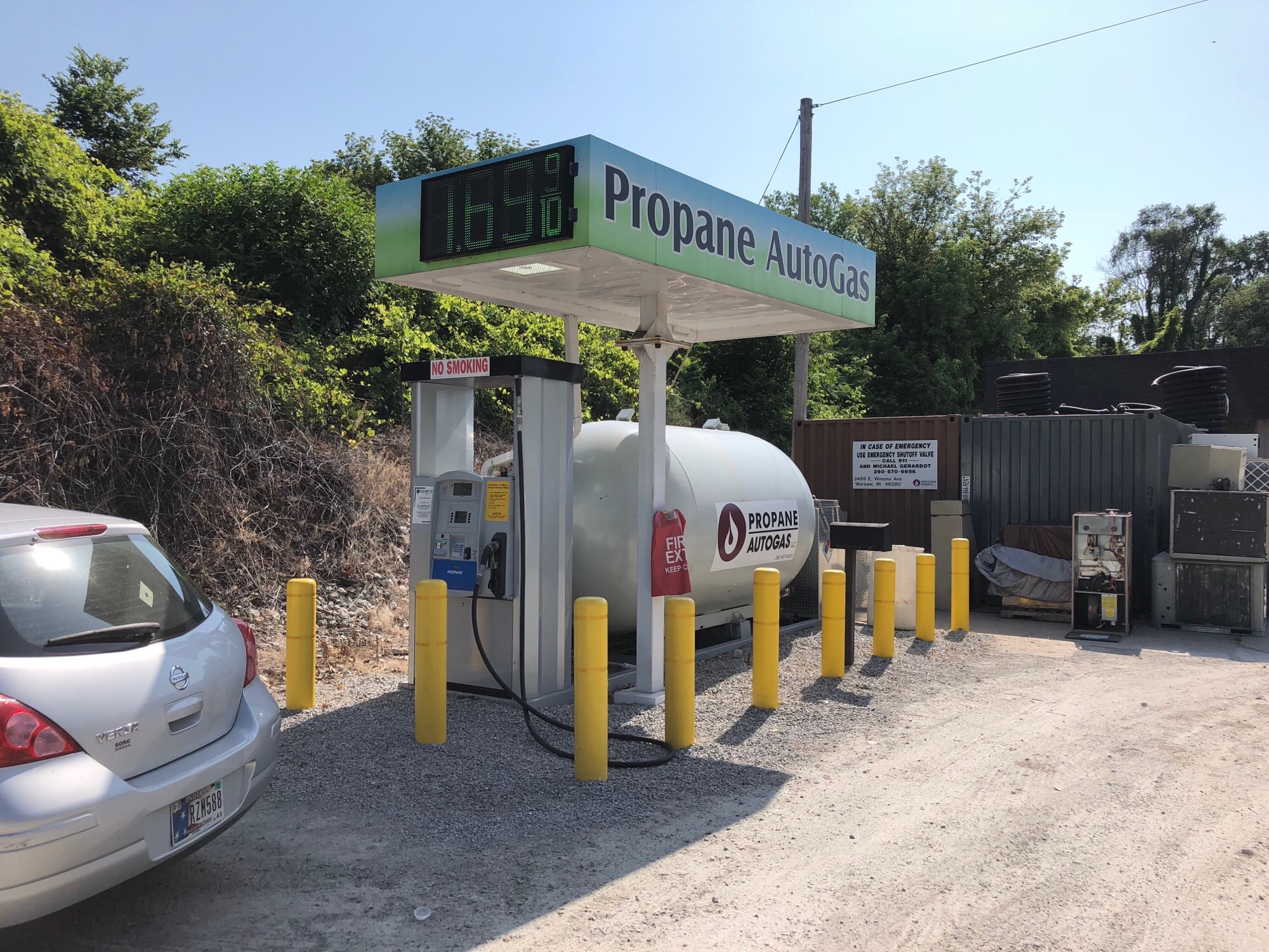 We Offer RV Propane Fill-Ups! | Colliers